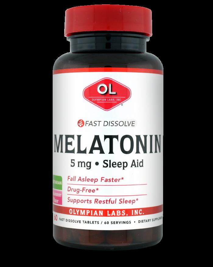 Melatonin, Fast Dissolve  5 mg 2810