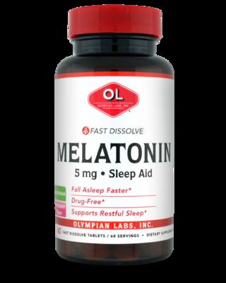 Melatonin, Fast Dissolve  5 mg