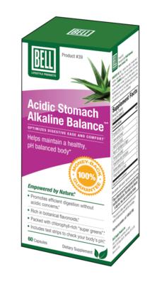 Acidic Stomach Akaline Balance