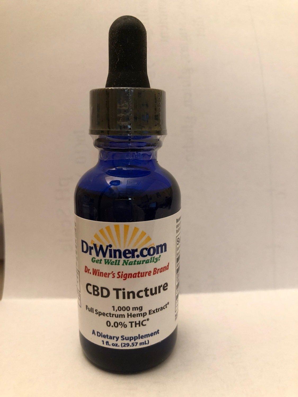 Dr. Winer's Signature Brand Full Spectrum CBD Oil