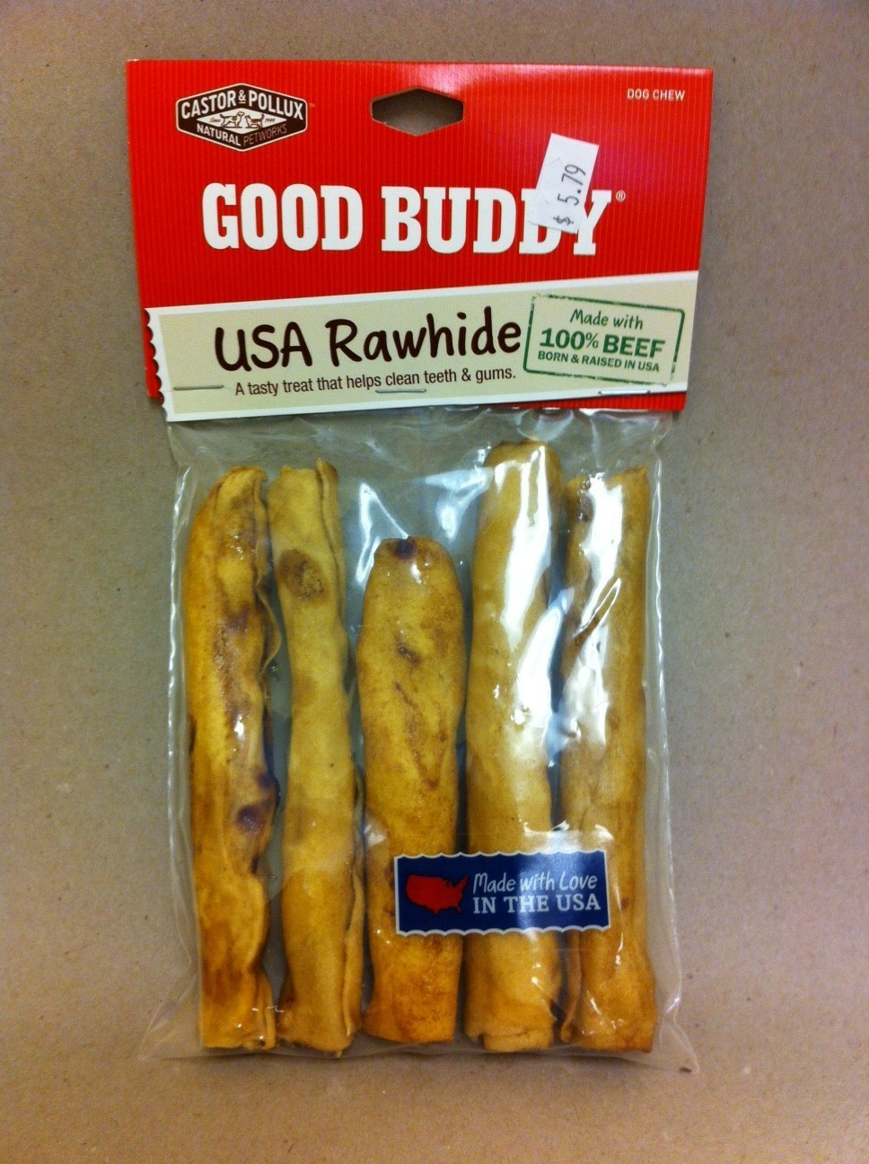 Good Buddy Rawhide Chews