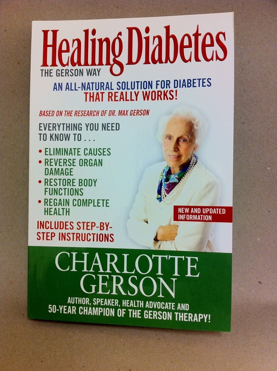Healing Diabetes the Gerson Way