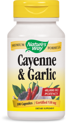 Cayenne & Garlic