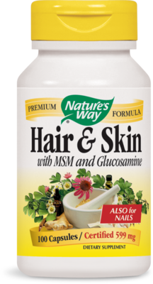 Hair & Skin with MSM and Glucosamine