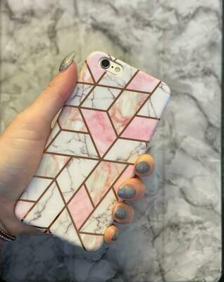 Geometric Marble Case