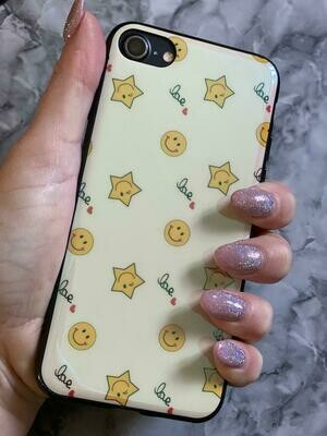 Cream Star Emoji Case