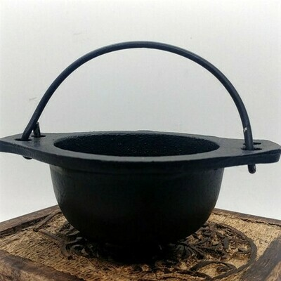 Cauldron - No Lid, Great For Resin Incense