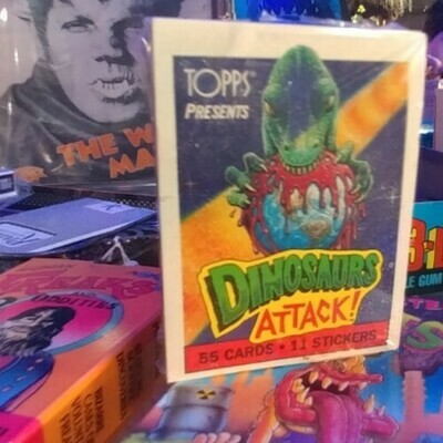 Dinosaurs Attack! - Tools Trading Cards And Stickers