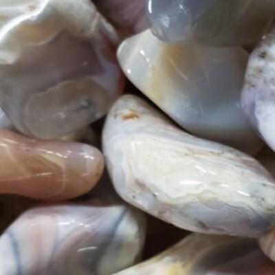 Botswana Agate Tumbled
