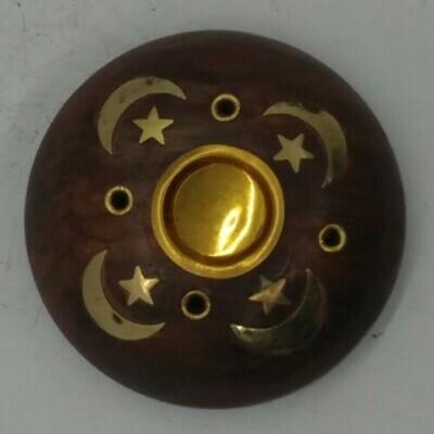 Moon And Star Incense Burner