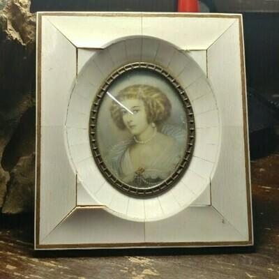 Vintage Celloid Frame - Portrait Of A Lady