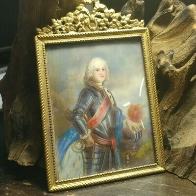 Louis XV? French Miniature Painting
