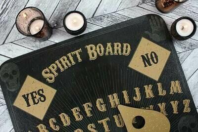 Yellow & Black Spirit Board