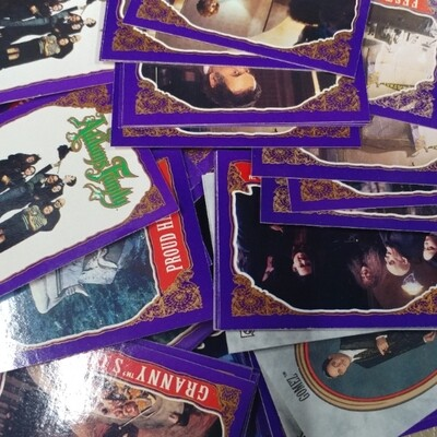 Addams Family Cards