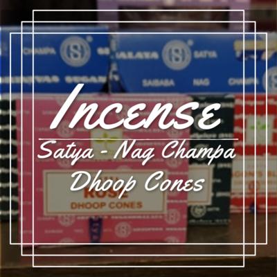 Satya Dhoop Cones