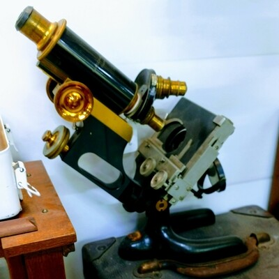 Bausch & Lomb Compound Microscope circa 1920