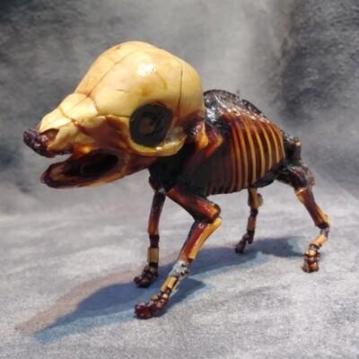 Small Mummified Fetal Pig