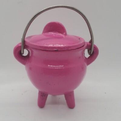 Cauldron - 3.5 Inches - Pink