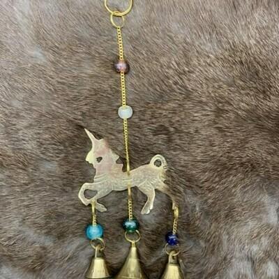 Unicorn Brass Windchime