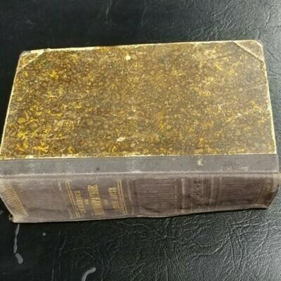 Lehrbuch Set Homoopathir Von Arthur Lutze - Book On Homeopathy - 1887
