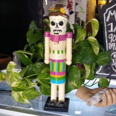 Day Of The Dead Nut Cracker