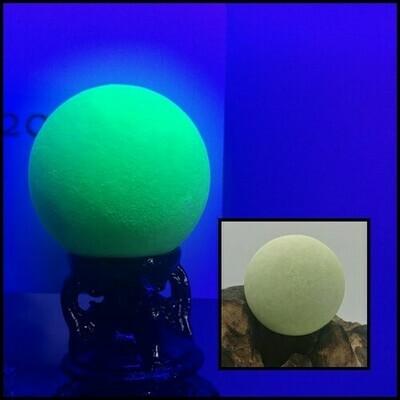 Glow In The Dark Ball - Green Calcite