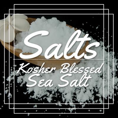 Kosher Blessed Sea Salt