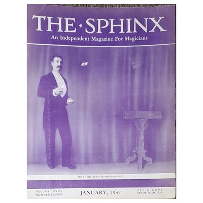 The Sphinx January 1937
