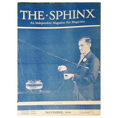 The Sphinx November 1936