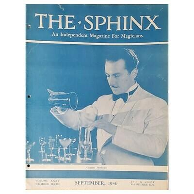 The Sphinx September 1936