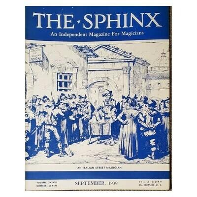 The Sphinx September 1939