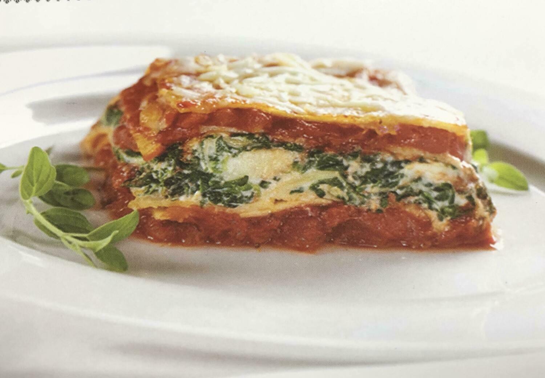 Ready to Bake Spinach Artichoke Lasagna 16oz tray