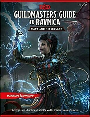 D&D Guildmaster's Guide To Ravnica: Maps and Miscellany