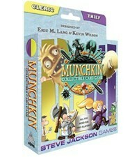 MUNCHKIN CCG DECK CLERIC/THEIF