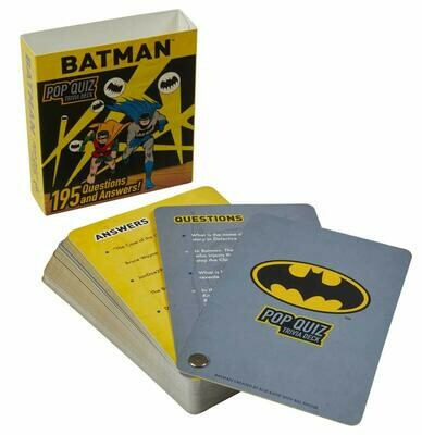 Batman Pop Quiz