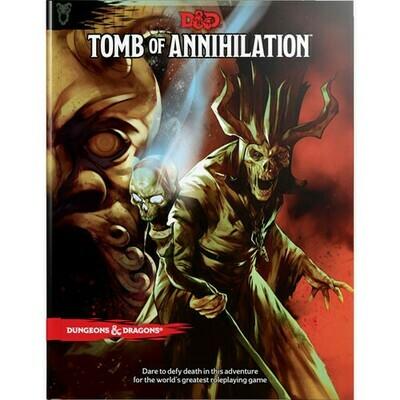 D&D Tomb Of Annihilation