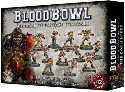 Blood Bowl Chaos Chosen Team - Doom Lords