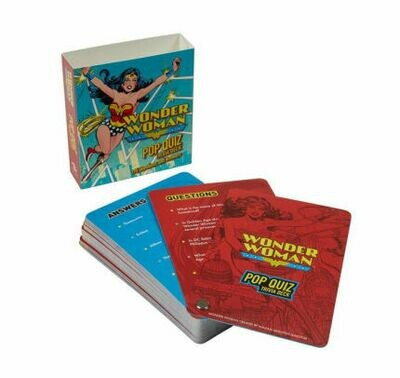 Wonder Woman Pop Quiz Trivia Deck