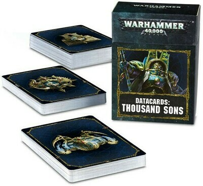 Datacards Thousand Sons