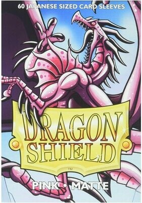 Dragon Shield Matte Pink JPN