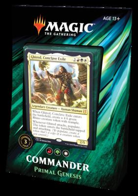 Commander 2019 Primal Genesis