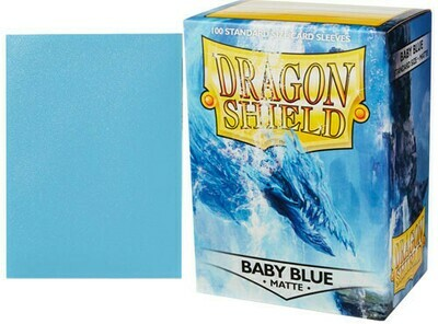 Dragon Shield Matte Baby Blue
