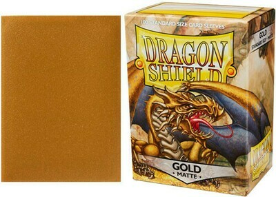 Dragon Shield Matte Gold