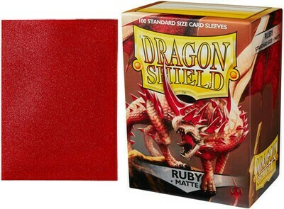 Dragon Shield Matte Ruby