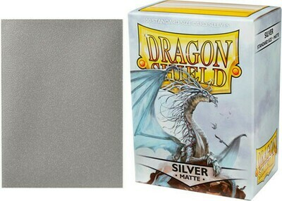 Dragon Shield Matte Silver