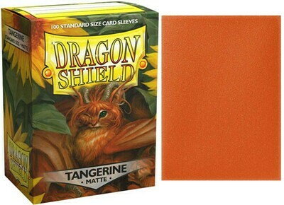 Dragon Shield Matte Tangerine