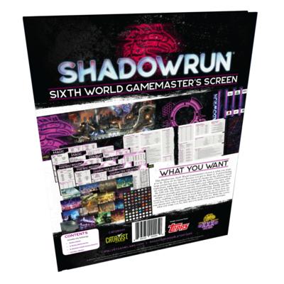 Shadowrun Gamemaster's Screen
