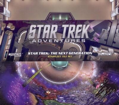 Star Trek Adventures TNG Starfleet Tile Set