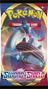 Pokemon TCG Sword And Shield Booster Pack