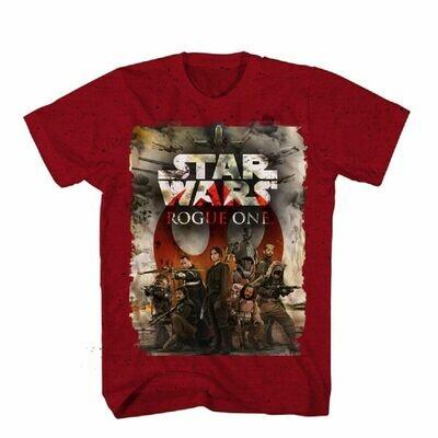 Star Wars Rogue One SS Team One T-shirt Lg
